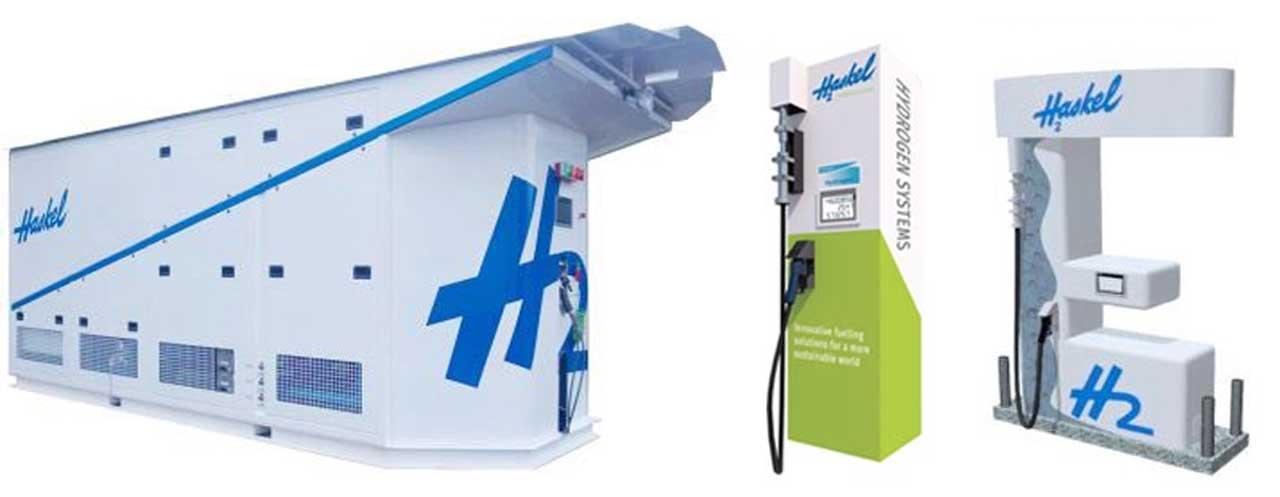 Haskel hydrogen refueling systems